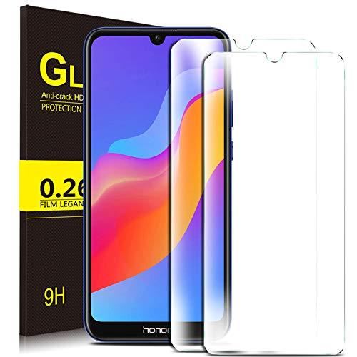 KuGi. für Honor 8A / Huawei Y6 Pro 2019 / Y6 2019 Panzerglas, Honor 8A Schutzfolie 9H Hartglas HD Glas Blasenfrei Displayschutzfolie passt für Honor 8A Smartphone. Klar [2 Pack]