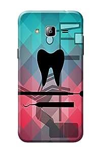 Samsung Galaxy J3 Back Cover KanvasCases Premium Designer 3D Printed Lightweight Hard Case