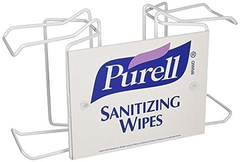 Purell 9002-01 Sanitizing Wipe Pole Mount Bracket, Double Canister