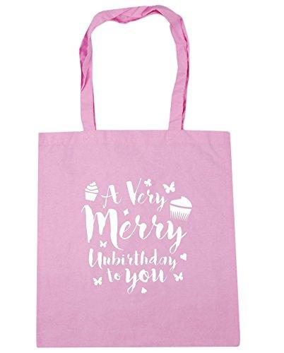 hippowarehouse-bolsa-de-playa-de-algodn-mujer-rosa-rosa-talla-nica