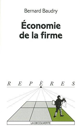 Economie de la firme