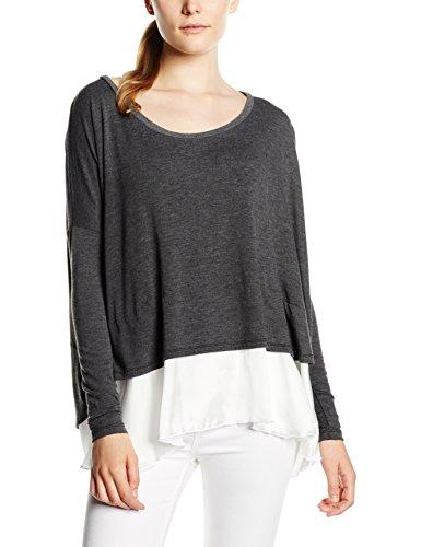 Maze Damen T-Shirt Grau (anthra melange 9918)