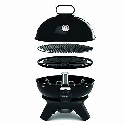 Tefal BG9108 Aromati-Q 3in1, elektrischer Kugelgrill zum Grillen, Braten und Räuchern, Tischversion