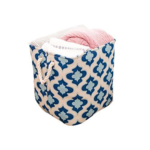 Badewanne Bettwäsche-schrank (Inwagui Wäschekorb Aufbewahrungskorb mit Griff Schrank Organizer Aufbewahrungsbox für Kleidung Handtücher Bettwäsche-Groß)