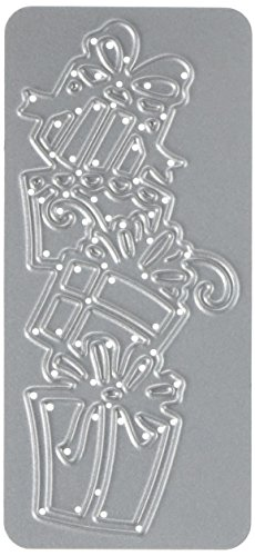 Cottage Cutz cce-386Eliten sterben, 3x 6,9cm Fancy Presents, Silber -