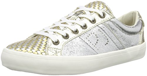 Pepe Jeans Clinton Interlaced, Sneakers Basses Femme