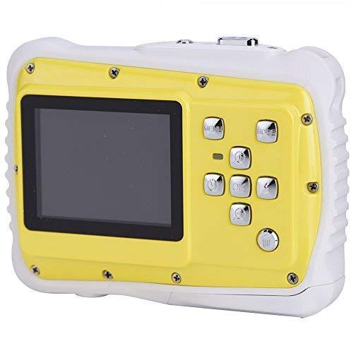 Cámara Digital para Niños Impermeable 2 '' Pantalla 720P HD Fotos 8 Mega Píxeles con Correas de Muñeca y Cable USB