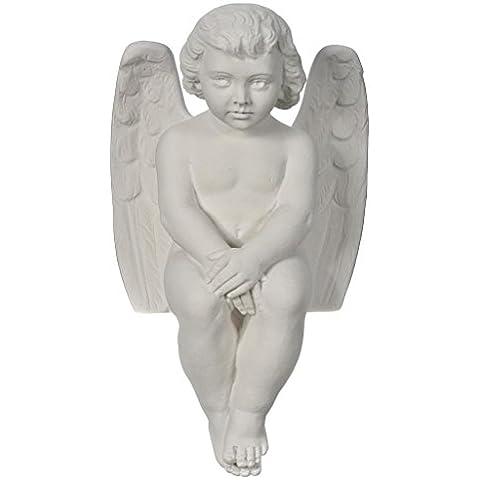 Angioletto cherubino 40 cm marmo