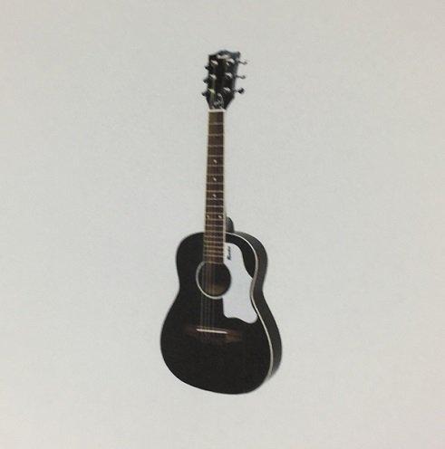 Gibson Maestro Mini-Akustikgitarre, 76,2 cm, Schwarz, mit Konzerttasche