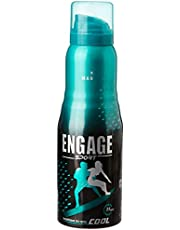 Engage Sport Cool Deodorant Spray For Men, 150ml / 165ml