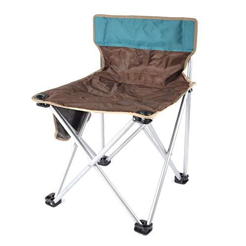 Hxx Tragbarer faltender kampierender Stuhl, Faltbarer Fischen-Picknick-Strand-Garten-Patio-Möbel-Sitz,C - Sling Patio Möbel
