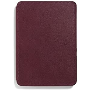 Amazon Kindle Touch Leather Case (4th generation - 2011 release), Wine Purple
