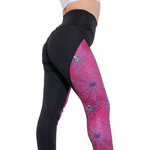 Hibote Sexy Fitness Yoga Deporte Pantalones Push Up Mujeres Gimnasio Correr Leggings Jegging Medias Pantalones de Cintura Alta Joggers Pantalones Estilo 8 2XL
