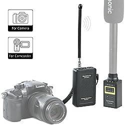 Système sans fil numérique portatif professionnel de Saramonic VHF pour la collecte et le reportage de nouvelles