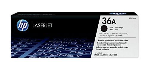 Preisvergleich Produktbild HP 36A (CB436A) Schwarz Original Toner für HP Laserjet M1120, HP Laserjet M1522