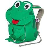 Affenzahn Kinderrucksack für 1-3 Jährige im Kindergarten - Finn Frosch - Grün