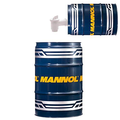 MANNOL 60 Liter Garagenfass + Ausgießer, Extreme 5W-40 API SN/CF