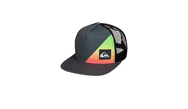 sale retailer 75ffb 5d5ca Quiksilver Men s New Wave Comp 3 Trucker Hat, Lollipop, One Size   Amazon.in  Clothing   Accessories