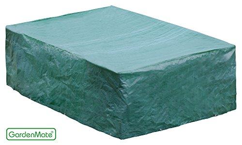 Gardenmate® - Fundas para muebles de jardín - 200x160x70cm - de primera calidad a partir de tejidos pe 120gsm (200x160x70cm)