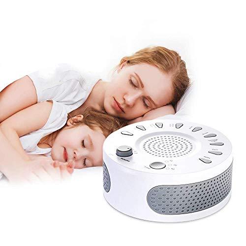 Barir Hypnose zu Hause mit weißem Rauschen beruhigt Schlafstörungen bei Erwachsenen, Schlafmittel für Schlafstörungen