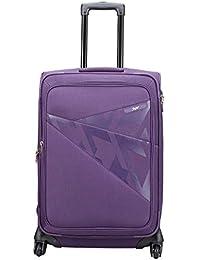 Skybags Footloose Wellington Polyester 66 cms Purple Softsided Suitcase (STFWE66EPPL)