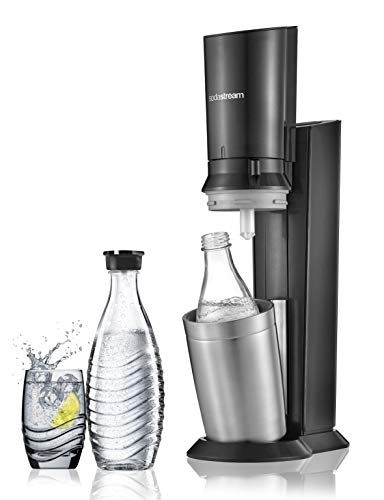 Sodastream Pack Spécial Machine Crystal en Alu brossé...