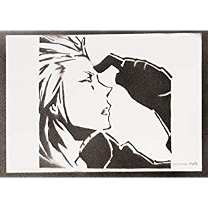 Axel Kingdom Hearts Poster Plakat Handmade Graffiti Sreet Art – Artwork