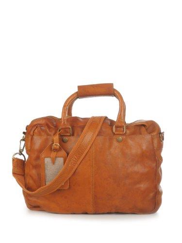 Cowboysbag Bag Washington 1065 Unisex-Erwachsene Henkeltaschen 39x29x10 cm (B x H x T) cognac