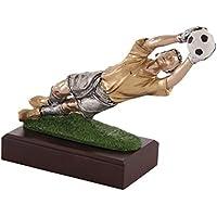 Art-Trophies TP418 Trofeo Deportivo, Dorado, Talla Única