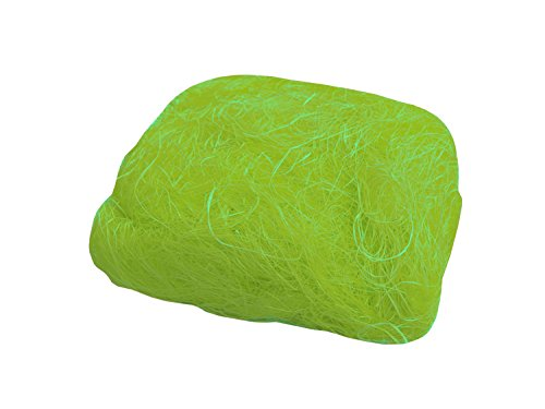 folia 855051 - Sisal Wolle 50 g, hellgrün - ideal für Gestecke, Sträuße und andere floristische Arbeiten