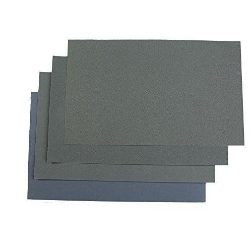 Hrph 6x wasserdichte Schmirgelpapier Schmirgelpapier P600 / 1000/1200/1500/2000/2500 - 6