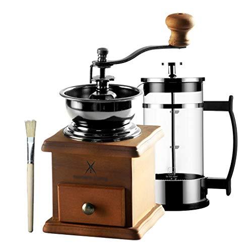 SDKF Manuelle Kaffeemühle Kaffeebohnenmühle Retro Mühle Haushalt, Gusseisen Schleifen core95 * 175mm, 2 Arten von Paketen (größe : 2)