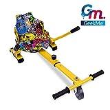 GeekMe Hoverkart G0 Kart para Hoverboard, , Longitud Ajustable, Compatible con Todos Los Hoverboards - 6.5 / 8 / 8.5 / 10 Pulgadas para Niños Adultos (Hip)