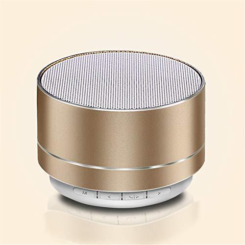 Mini Altavoz Bluetooth, Malla Metálica Colorida Luz De Respiración Decidual Cavidad Altavoz...