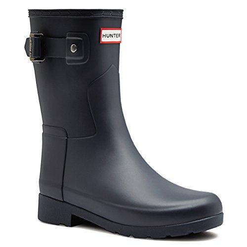 Hunter Damen Original Refined Short Winter Schnee Wasserdicht Stiefel EU 36-43 (Hunter Stiefel Frauen Kurze Blau)