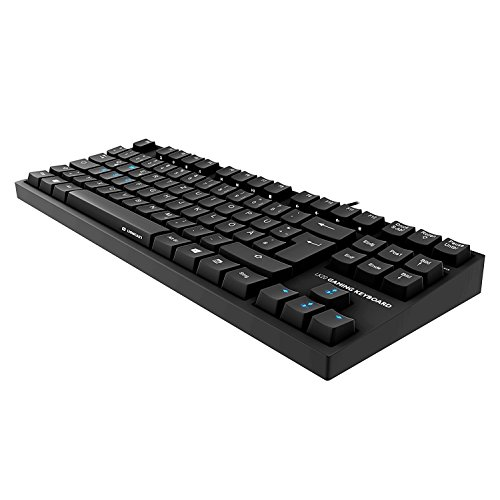 Lioncast LK20 mechanische Gaming Tastatur (LED, USB, Tenkeyless, deutsches QWERTZ-Layout, Cherry Blue) - 6