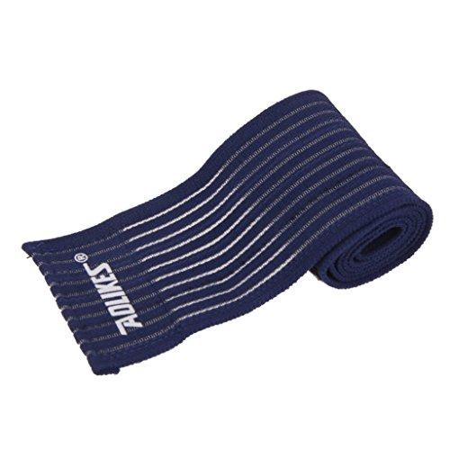 Chevillère Elastique Sport Bandage Soulagement de La Douleur de Pied - Bleu