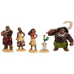 Taldec- Disney Vaiana Set de Figurines, 45536