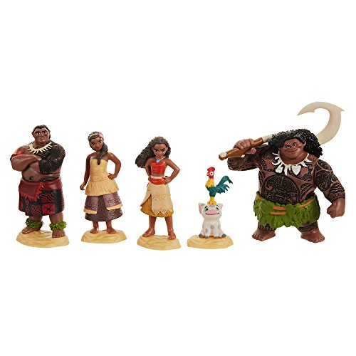 Taldec- Disney Vaiana Set de Figurines, 45536