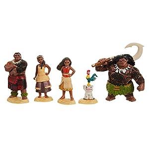 Jakks Pacific Vaiana Figuras, Multicolor, Talla única (45536-7L)