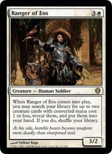 Magic: the Gathering - Ranger of Eos - Shards of Alara - Foil by Magic: the Gathering
