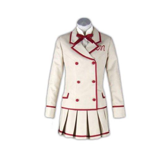 Saint Mädchen Kostüm - Dream2Reality Yumeiro Patissiere Cosplay Kostuem -Saint Marys College School Uniform Maedchen Kid Size Large