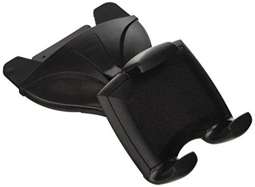 hr-imotion kompakte Universal CD-Schacht Halterung Quicky für alle Smartphones & Handys zwischen 58 und 84mm [5 Jahre Garantie | Made in Germany | 360 Grad drehbar | Einhandbedienung] - 22610001