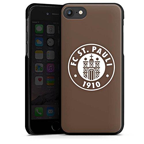Apple iPhone 7 Hülle Case Handyhülle FC St. Pauli Fanartikel Fußball Hard Case schwarz