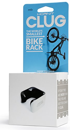 CLUG lwhbk Support vélo, White/Black, 43–62 mm
