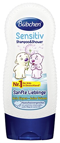 Bübchen Kids Shampoo und Shower Sanfte Lieblinge, 4er Pack (4 x 230 ml)
