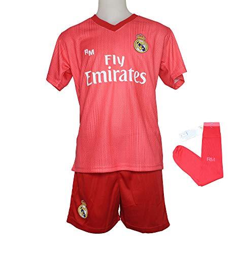 Conjunto Complet Infantil Real Madrid Réplica Oficial Licenciado de la  Tercera Equipación Temporada 2018-19 02f1f3469
