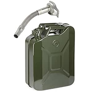 how to put petrol in car from jerry can