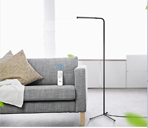 Bronze-nickel-stehleuchte (H&M Stehleuchte LED Stehlampe Wohnzimmer Schlafzimmer einfachen Augenschutz kreative Stehlampe europäischen Fischereistehlampe)