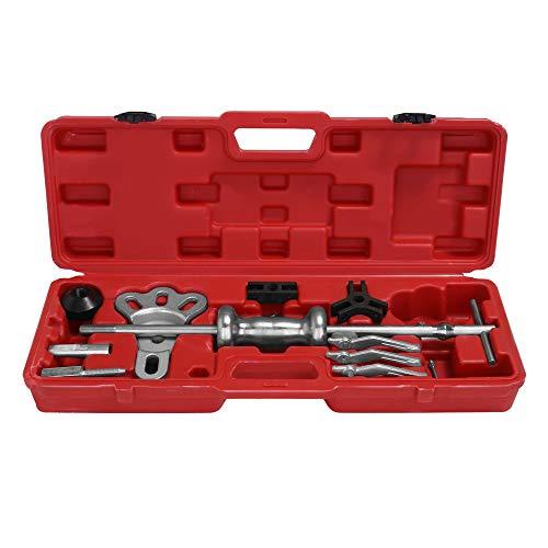 Slide Hammer Puller Set, KKmoon Dent Puller Bearing Remover Tool Zum Entfernen von Naben mit humanisiertem Design Hohe Genauigkeit Effizient -
